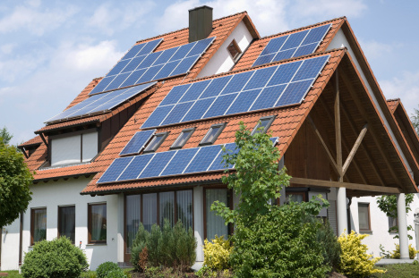 Is my house suitable for solar panels energis for Solar powered home designs