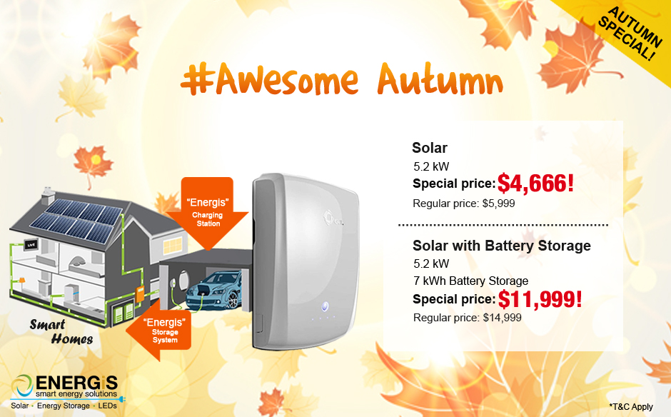 #Awesome Autumn Offer with Energis